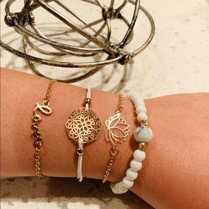Boho bracelet set ☀️